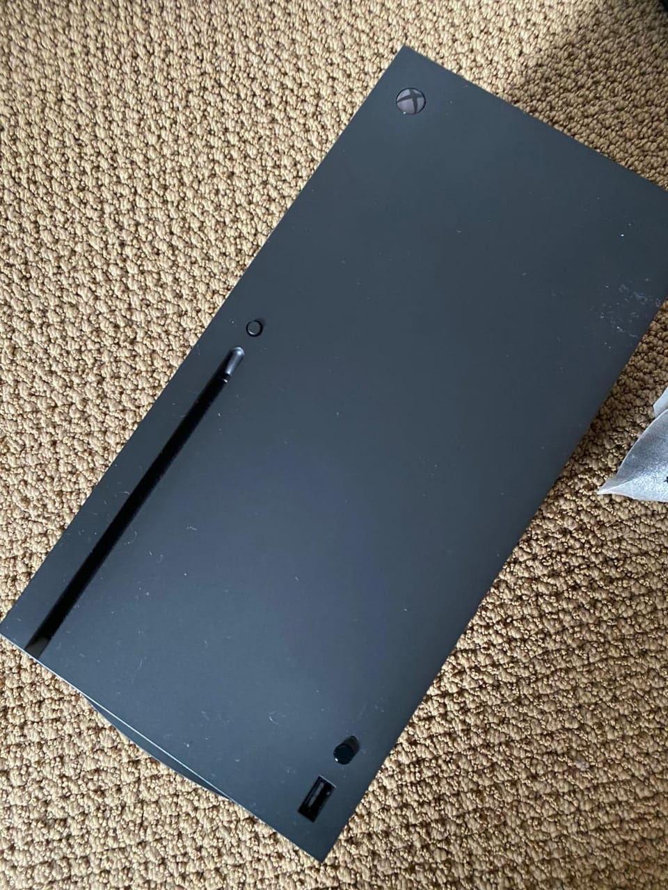 Frontseite der Xbox Series X